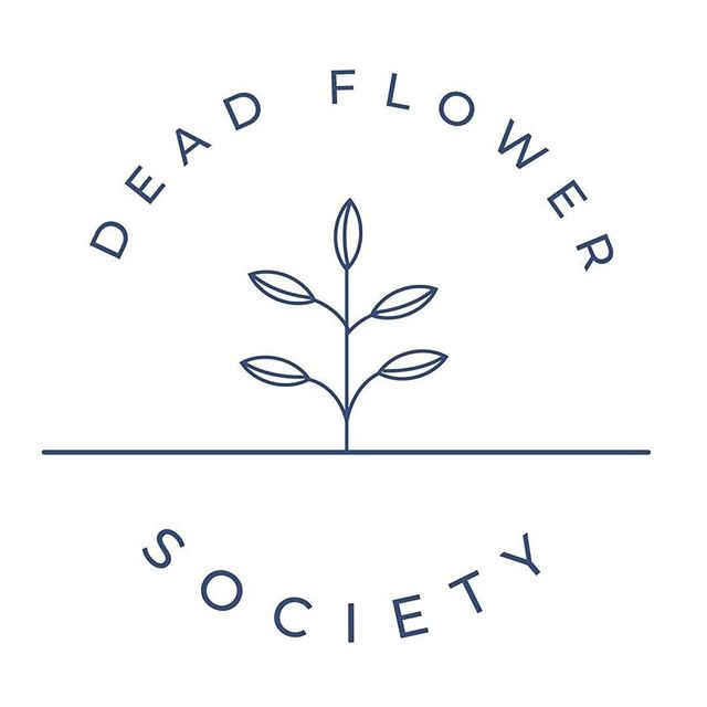 New Company Logo Design. . . . . #companylogo #logo #minimalistic #graphicdesign #fiverr #flowers #deadflowersociety
