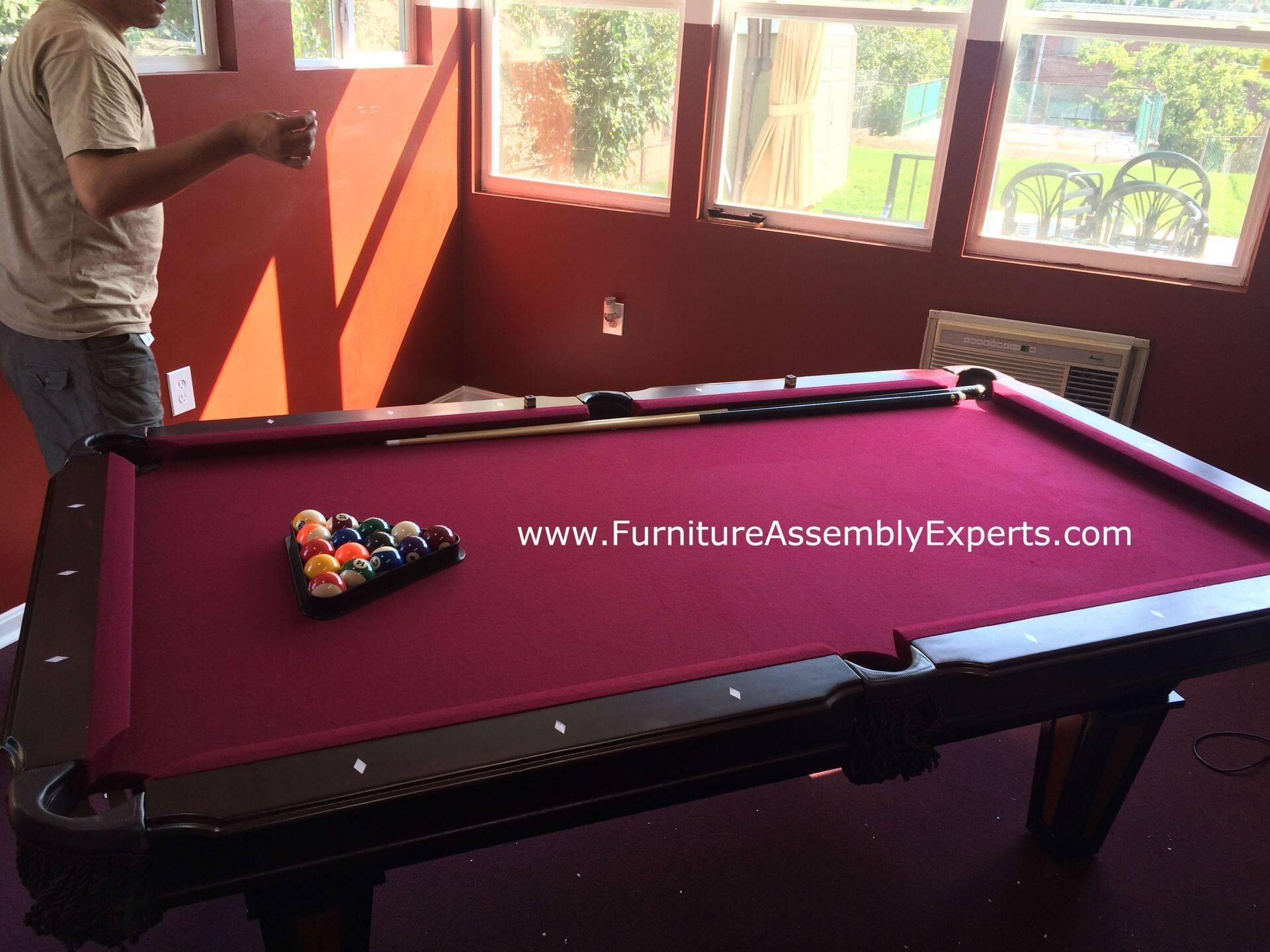 Billiard Pool Table Repair Service In Washington Dc Md Va