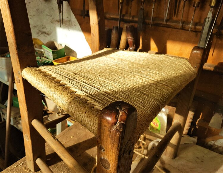 Cane Chair Repair Dublin Clove Hitch