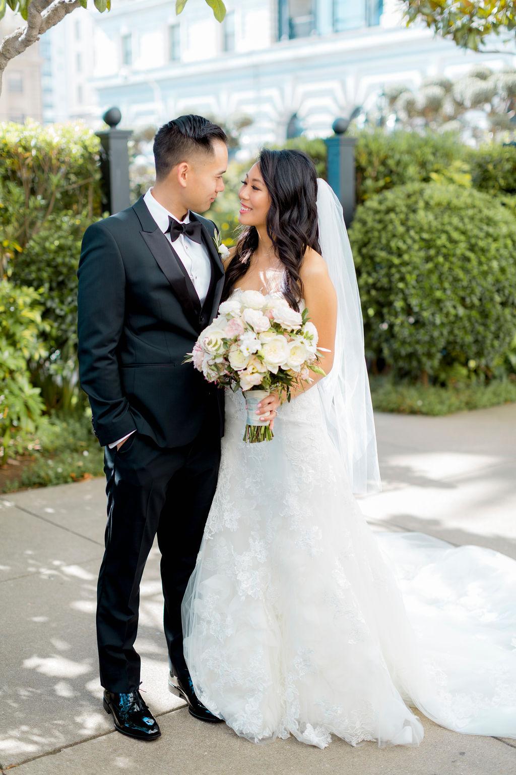 The Fairmont San Francisco Wedding Christina Jj Details Details Weddings And Events