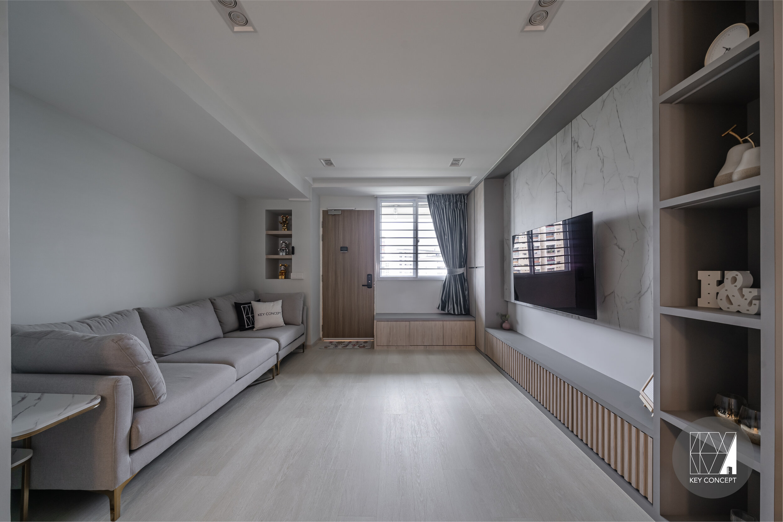 Best Interior Design Firms for your HDB renovation in Singapore - Key Concept