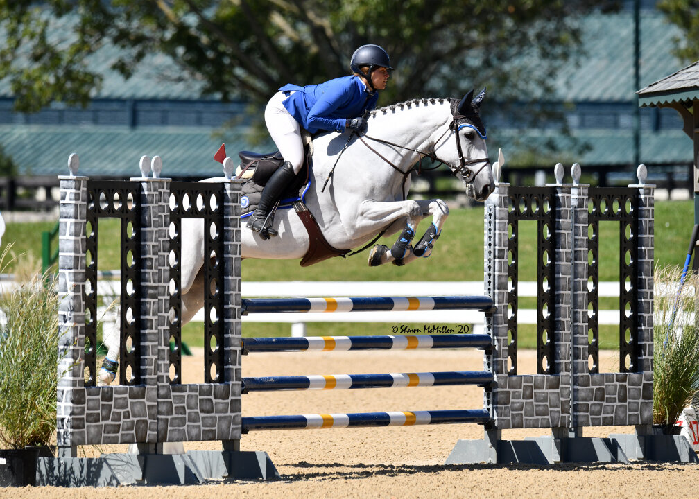 Palano ABF ridden by Talyor Flury, was the 5-year-old division champion.  In 2019 Palano ABF was the 4-year-old Classic Champions Award of  Distinction recipient. Photo by Shawn McMillen Photography