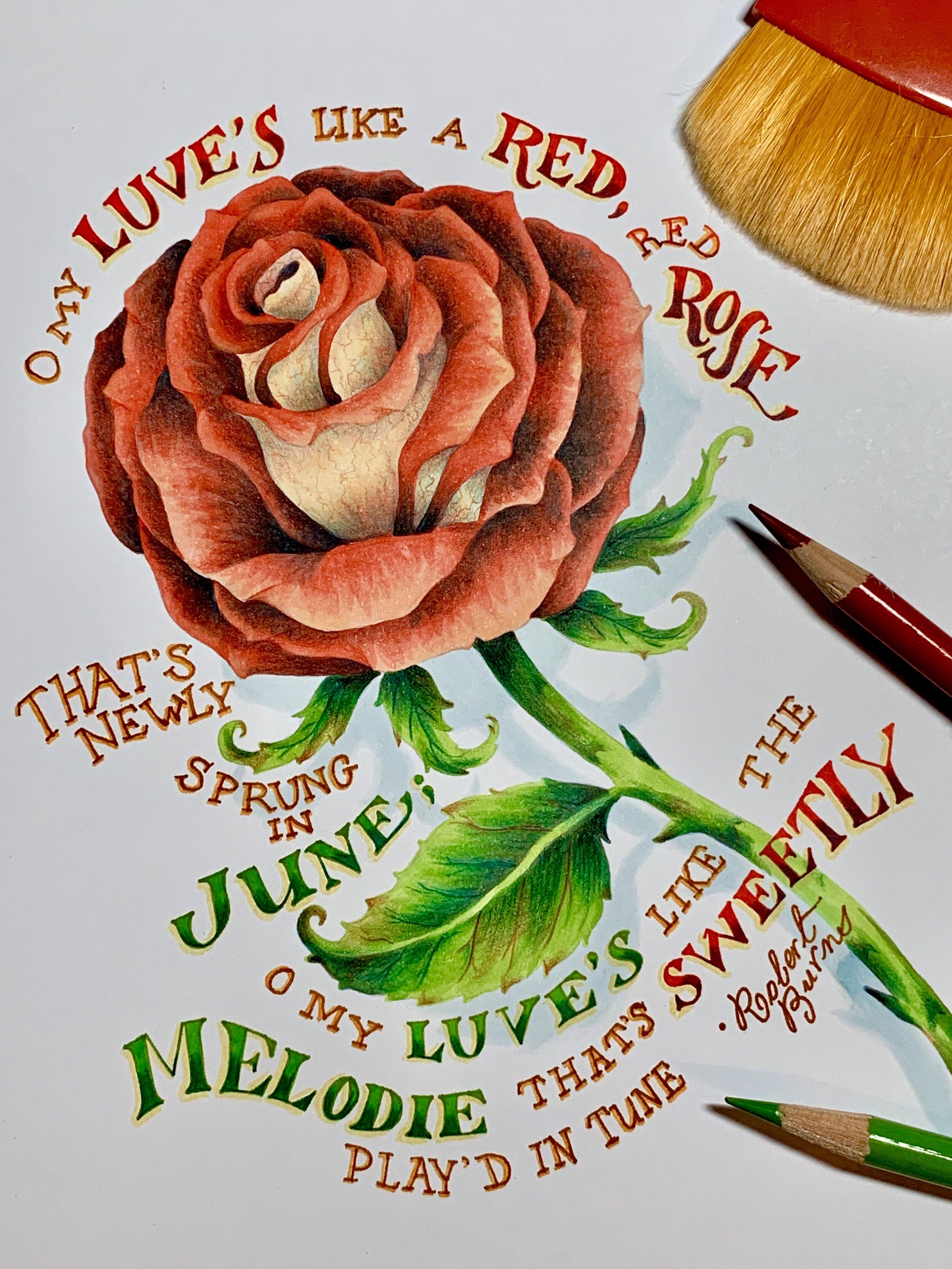 Vital Rose Carde Diem