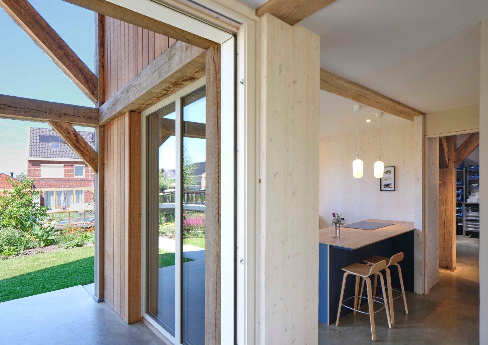 Eiken Houten Spanten Projecten Pagina Schoots Architecten Bna
