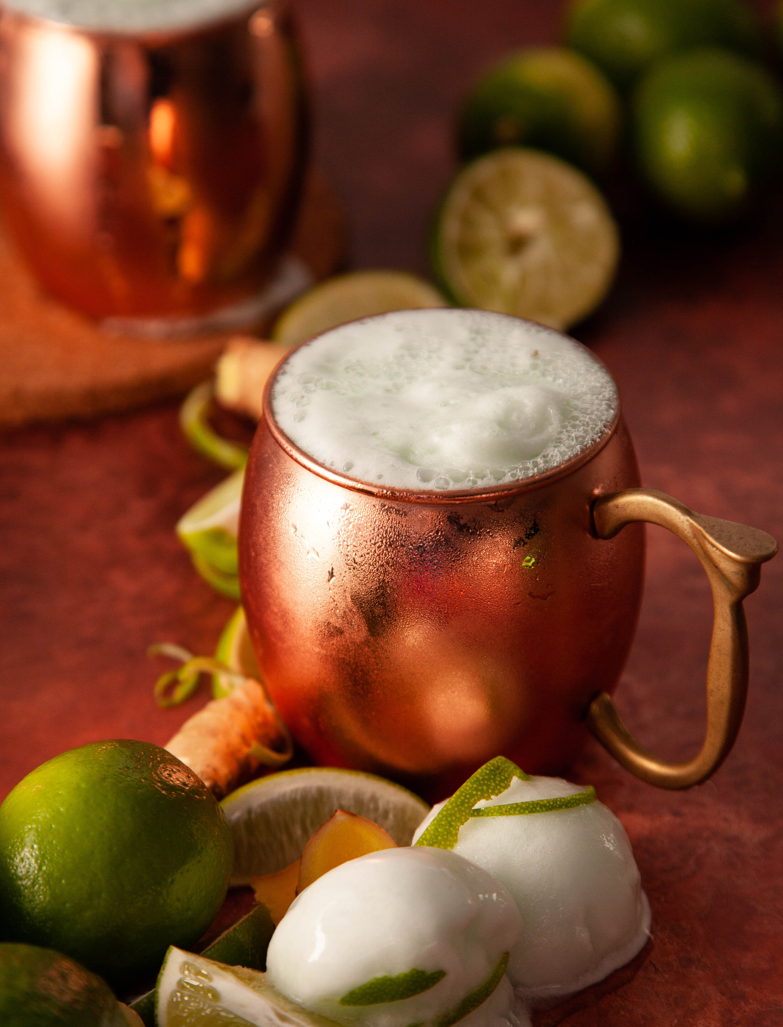 Lime Sherbet Moscow Mule