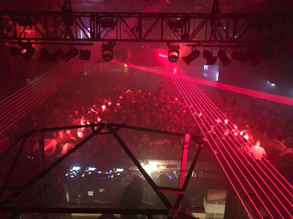Motion nightclub, 2018