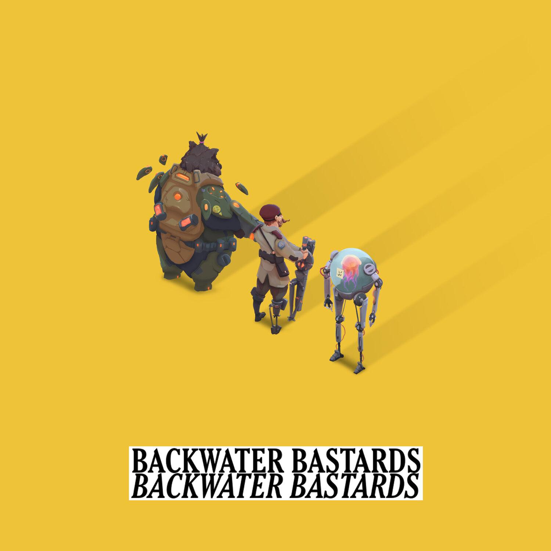 Backwater Bastards Cover Art