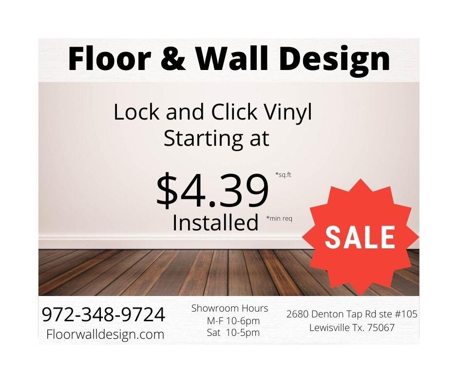 Floor & Wall Design
