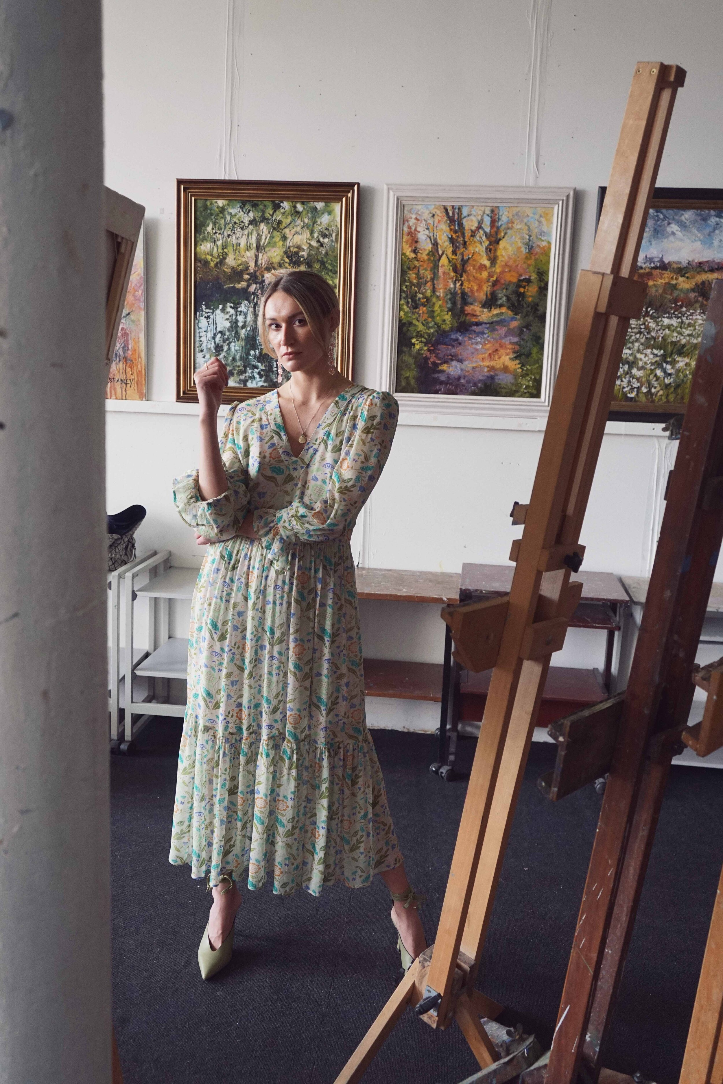The Vanessa Bloomsbury Maxi Dress