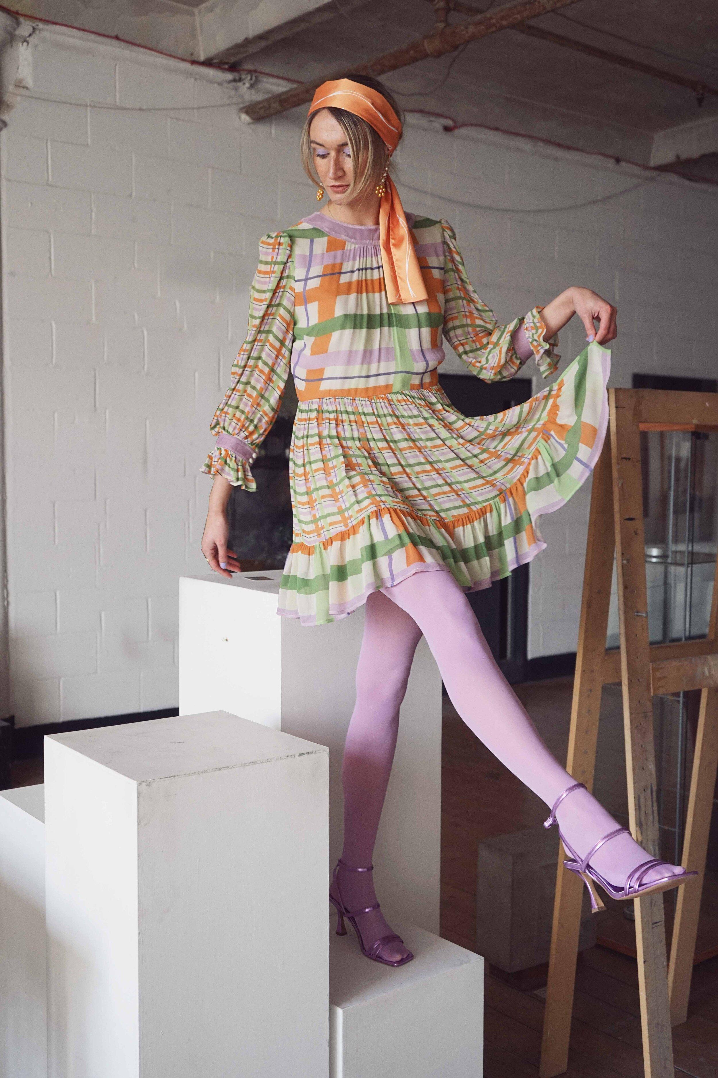 The Virginia Charleston Gingham Dress