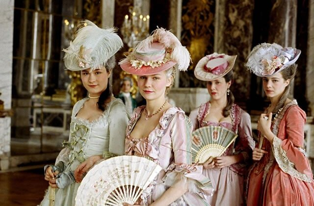 I don't think we could create a round-up of beautiful costumes in films without including this film. It's probably one of the most beautiful films ever made - a film I'd love to live inside - apart from the ominous ending of course! The costumes make me want this film to never end, but alas all good things come to an end. So much cake inspiration…so much cake.