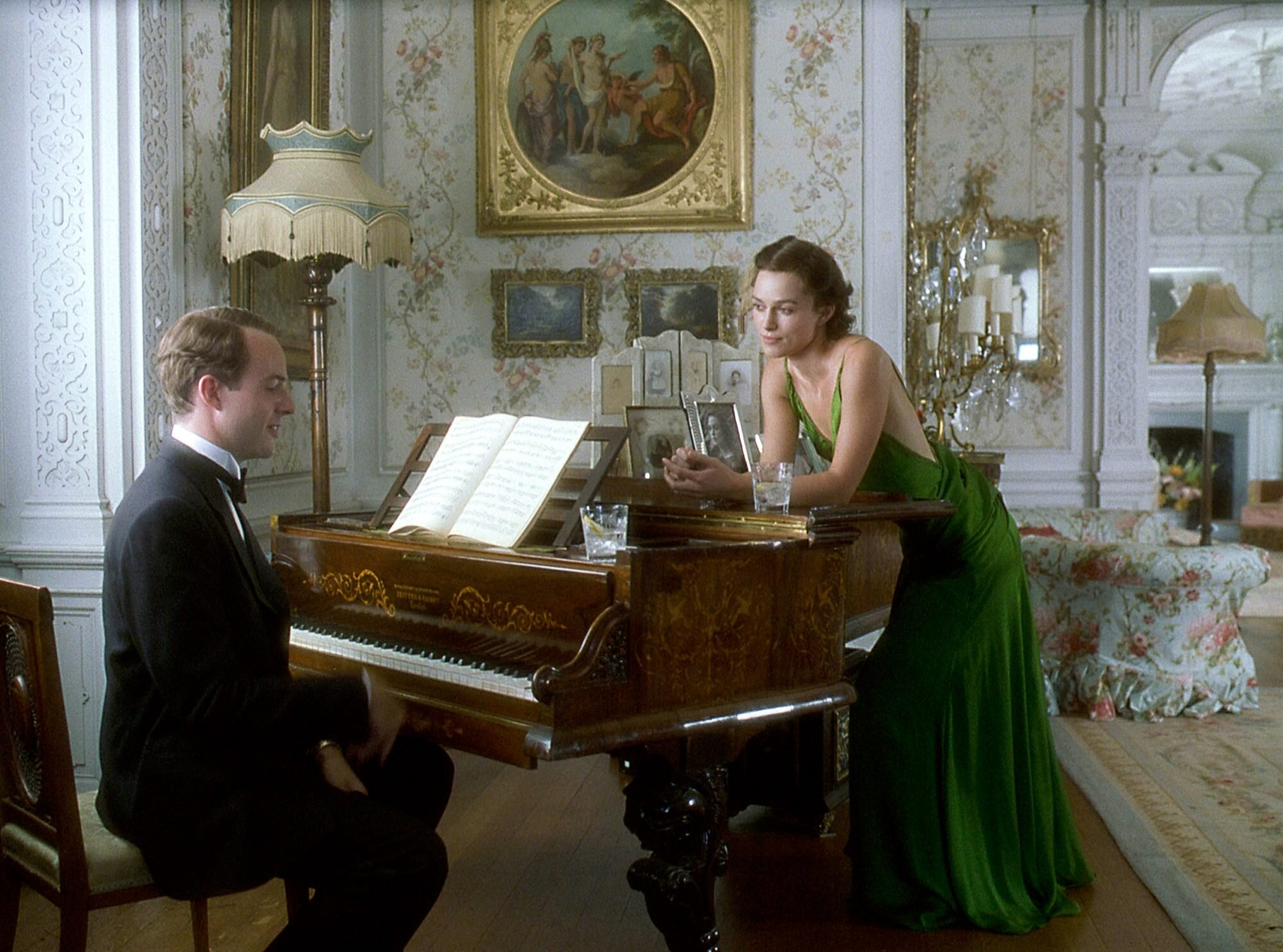 3 words.  The Green Dress . If you have no other reason to watch this film make sure you watch it for this dress alone. This dress must be one of the most elegant dresses made for film of all time and no one else could pull it off quite like Keira Knightley does. This dress has always stuck with us, and with so many others too it seems, as around the time the film was released, it was voted the greatest film costume ever in a Sky Movies/ In Style poll. Over a decade later, it's still regarded as one of the all-time greats.     We hope you enjoy watching these films and costumes - please let us know your thoughts in the comments below!