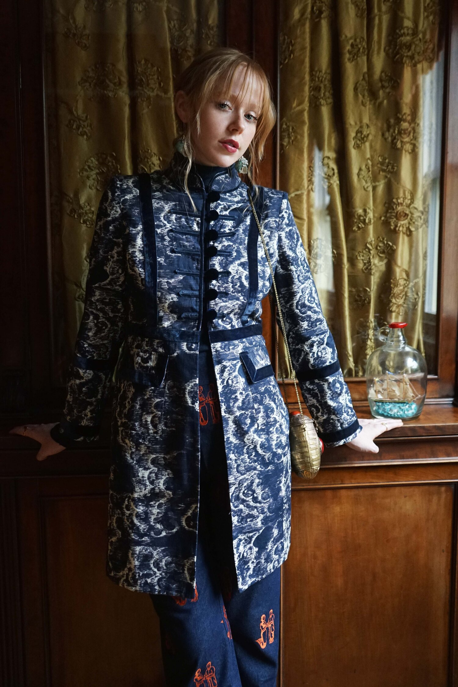Moby Jacket in Tempest Print