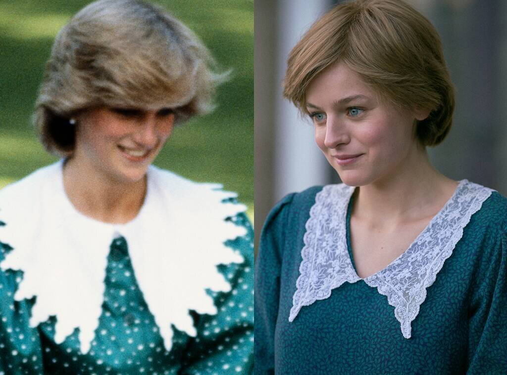 And it's not just within the home that we've seen the celebration of the neckline this year – from Harry Styles' Vogue shoot to Emma Corrin's Princess Diana, the statement collar has been everywhere in 2020.