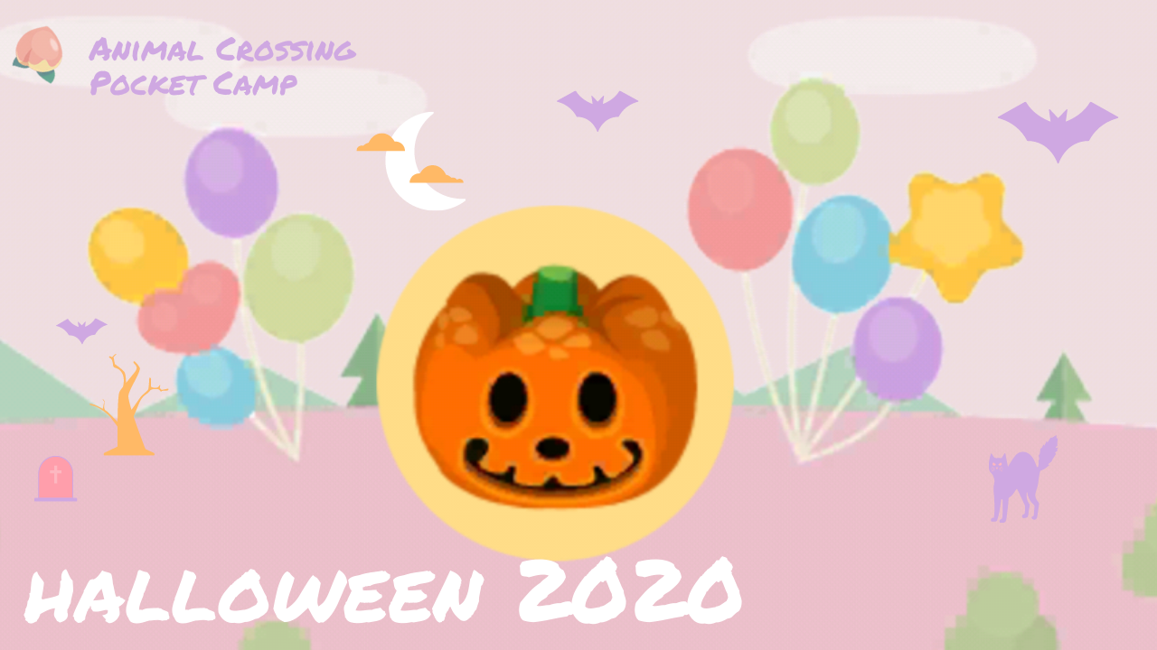 Camp Camp Halloween Special 2020 October 2020 Animal Crossing Pocket Camp Events — Kittymons