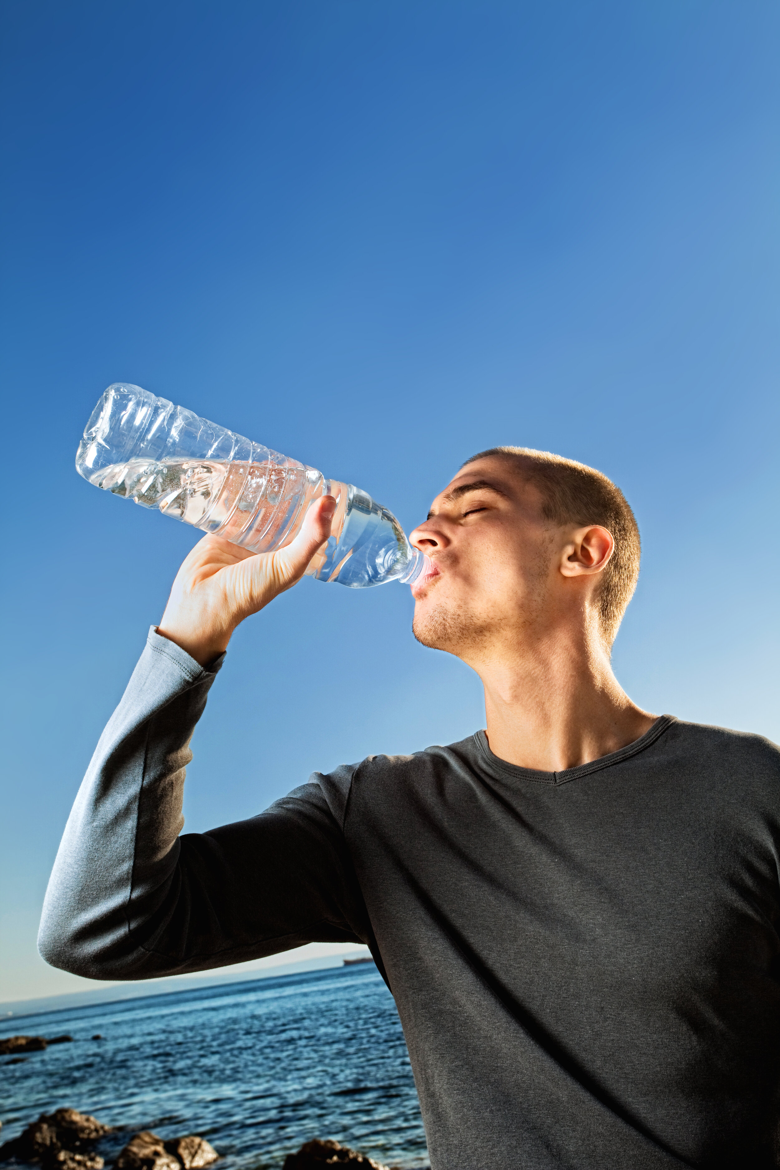 Drink water, Drink lots of water is a great weight loss tip