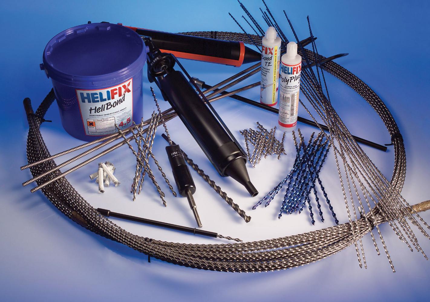 Helifix Crack Repair
