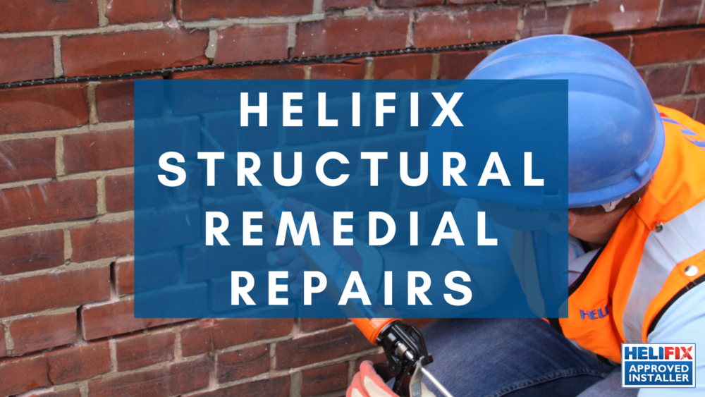 Helifix Crack Repair Como