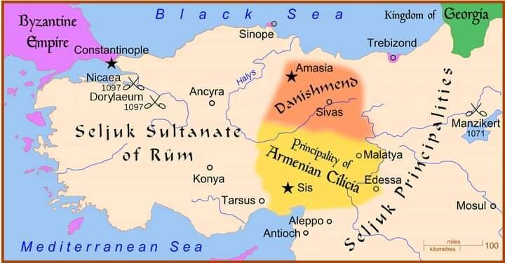 Seljuks of Rum - Kilic Arslan I