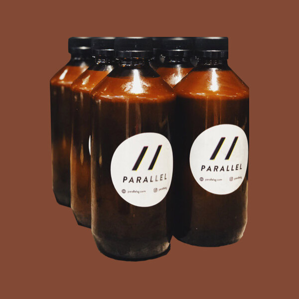 White Cold Brew Coffee (250ml) — Parallel: Açaí and Coffee