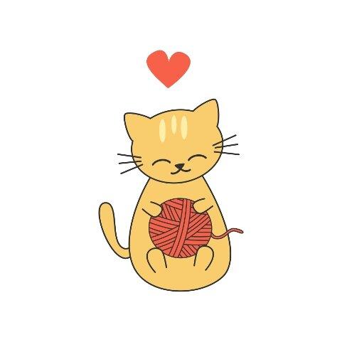 Cute Cartoon Cats Illustrations Alice Vacca