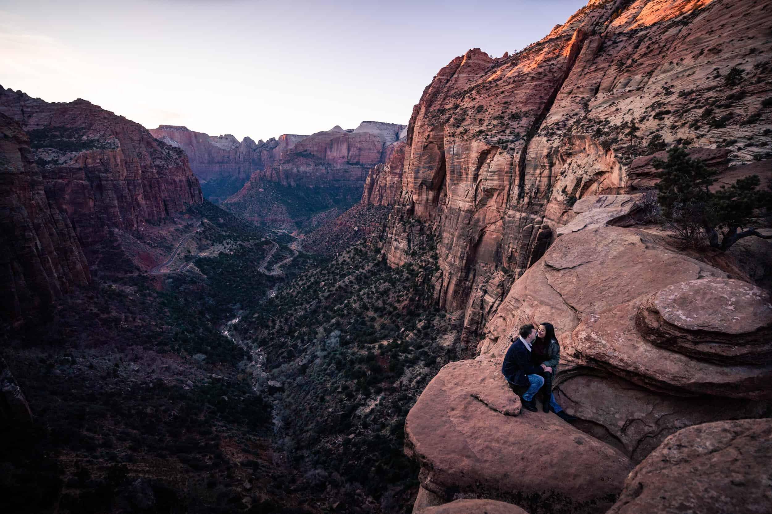 zion moab utah adventure elopement wedding photography videography 1