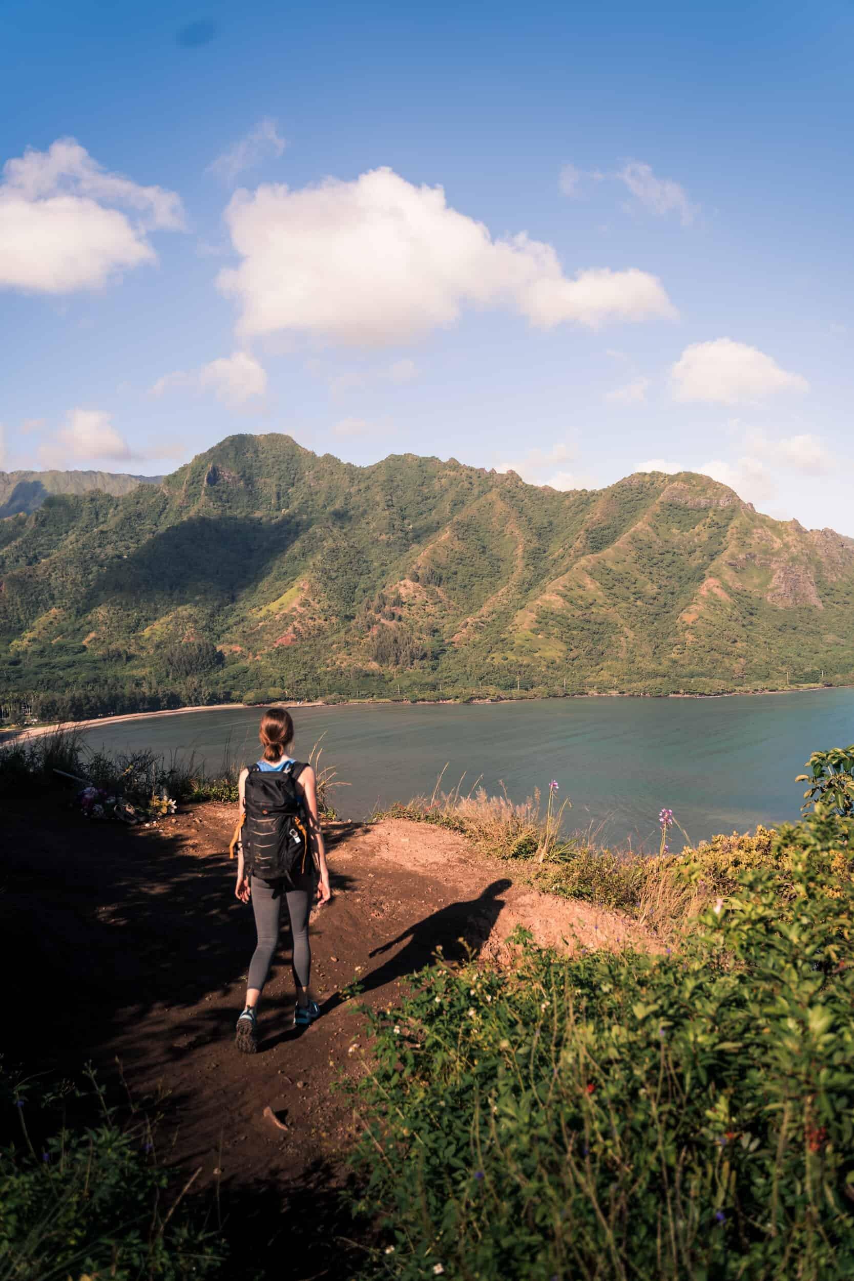 Crouching Lion, Oahu Elopement location