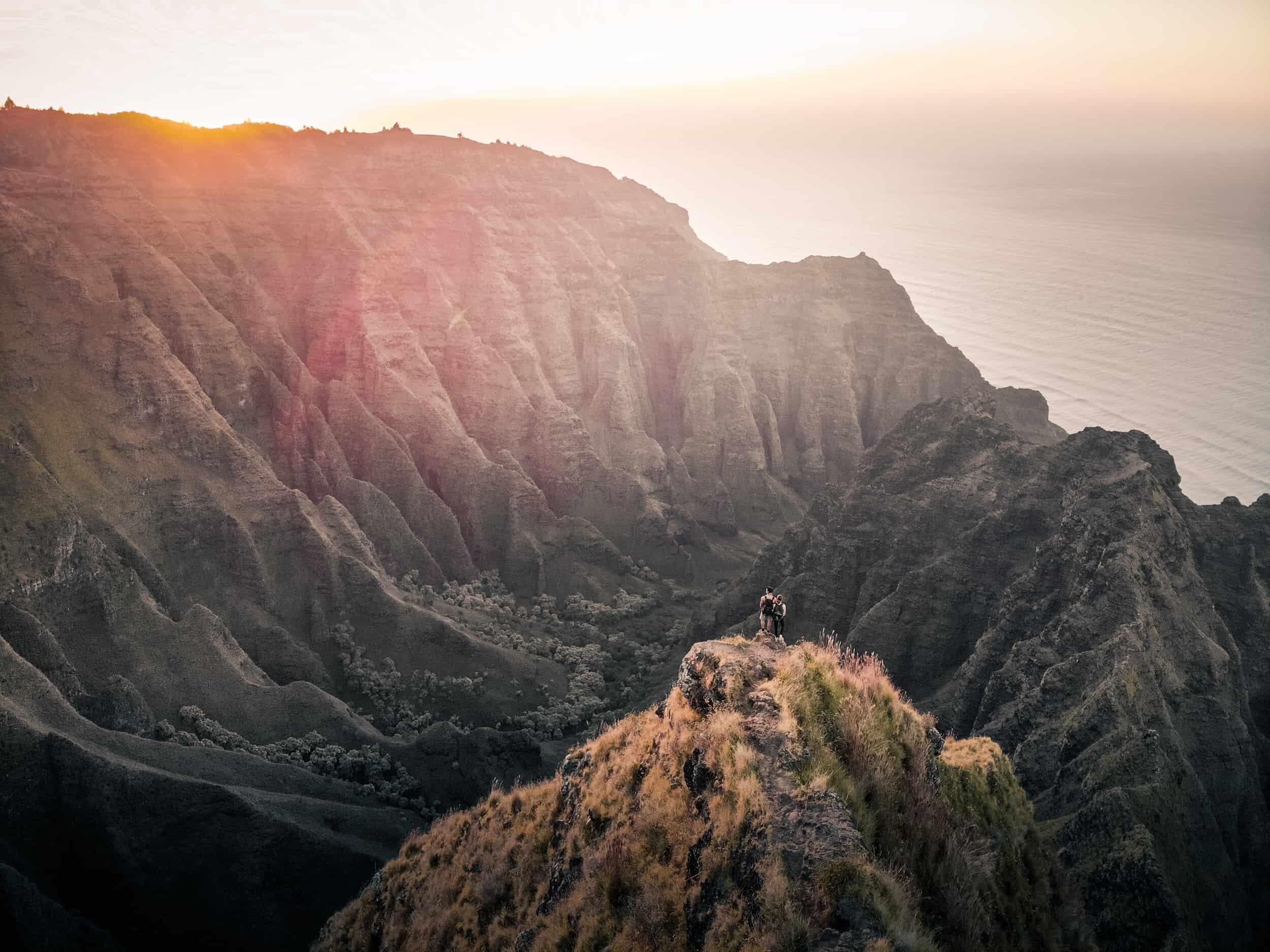 Awaawapuhi Trail, Kauai Elopement locations 2