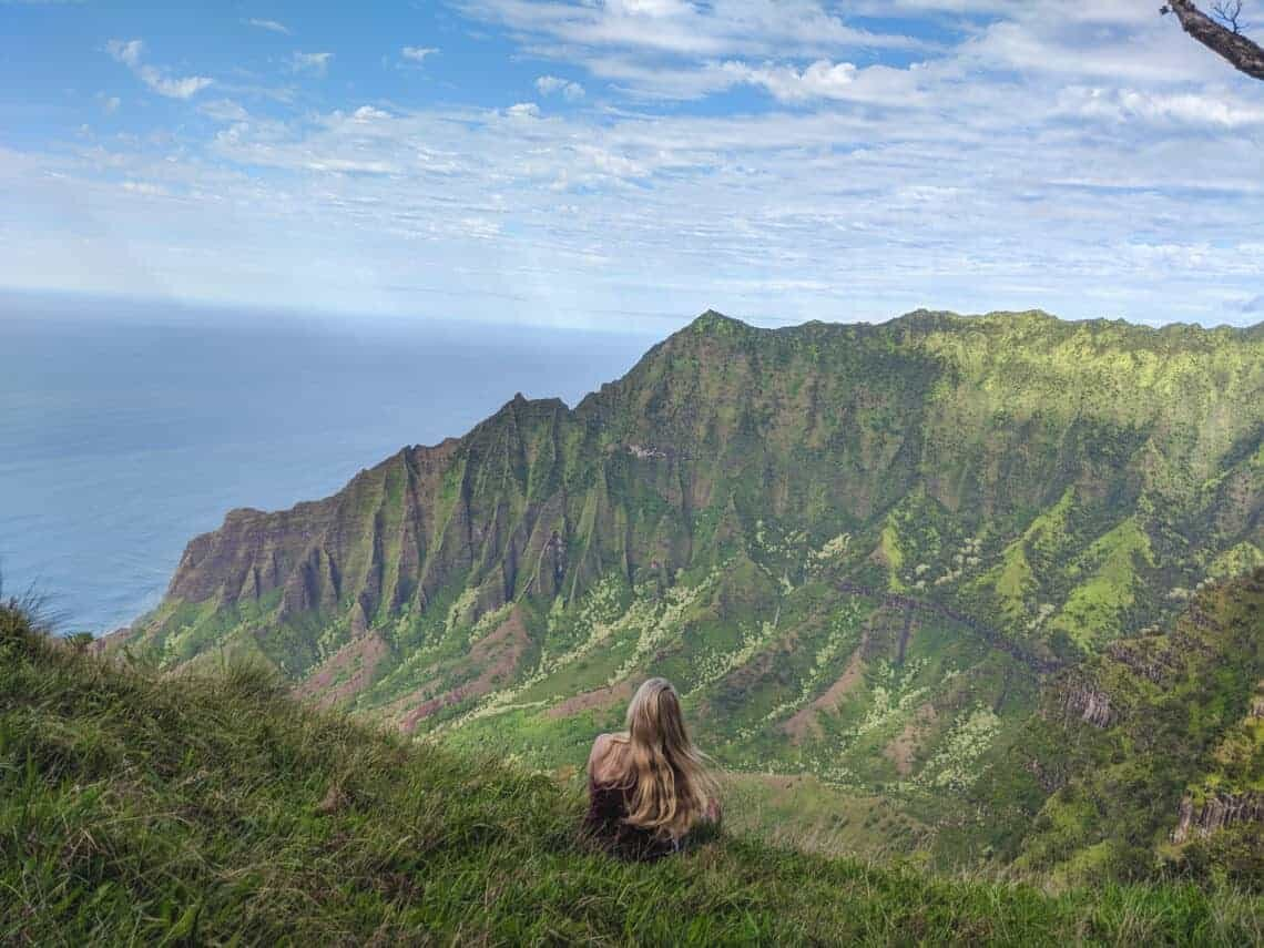 kalepa ridge trail Kauai Elopement location