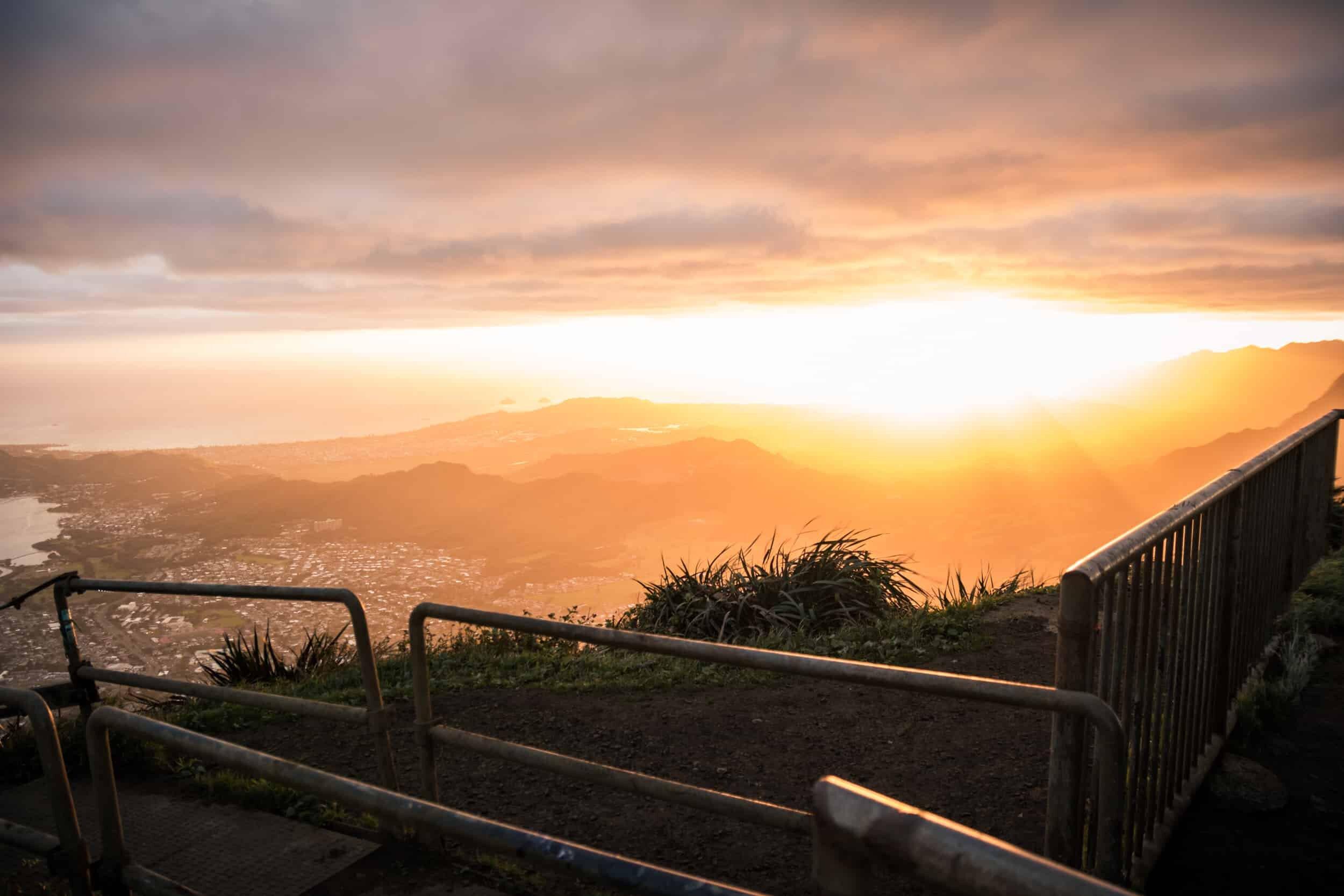 Stairway to Heaven, Oahu Elopement Location 2