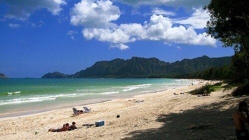 OAHU ELOPEMENT LOCATIONS beaches bellows beach 2