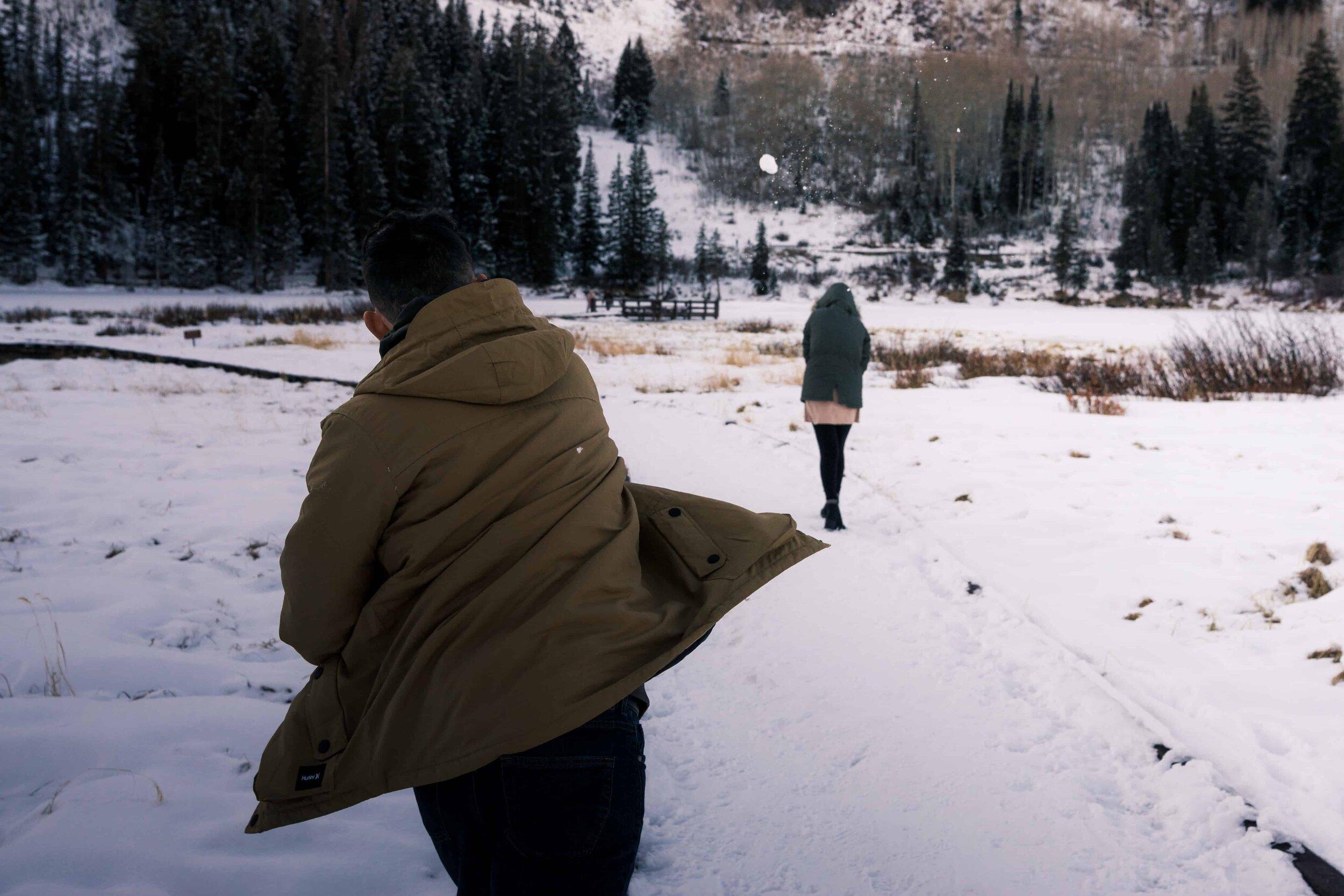 Angel and Kailey Utah Engagement adventure photoshoot