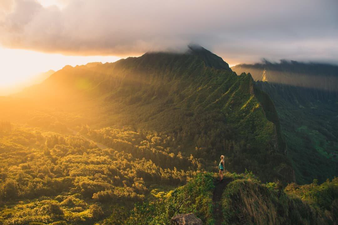 Pali Notches Oahu Hawaii Elopement