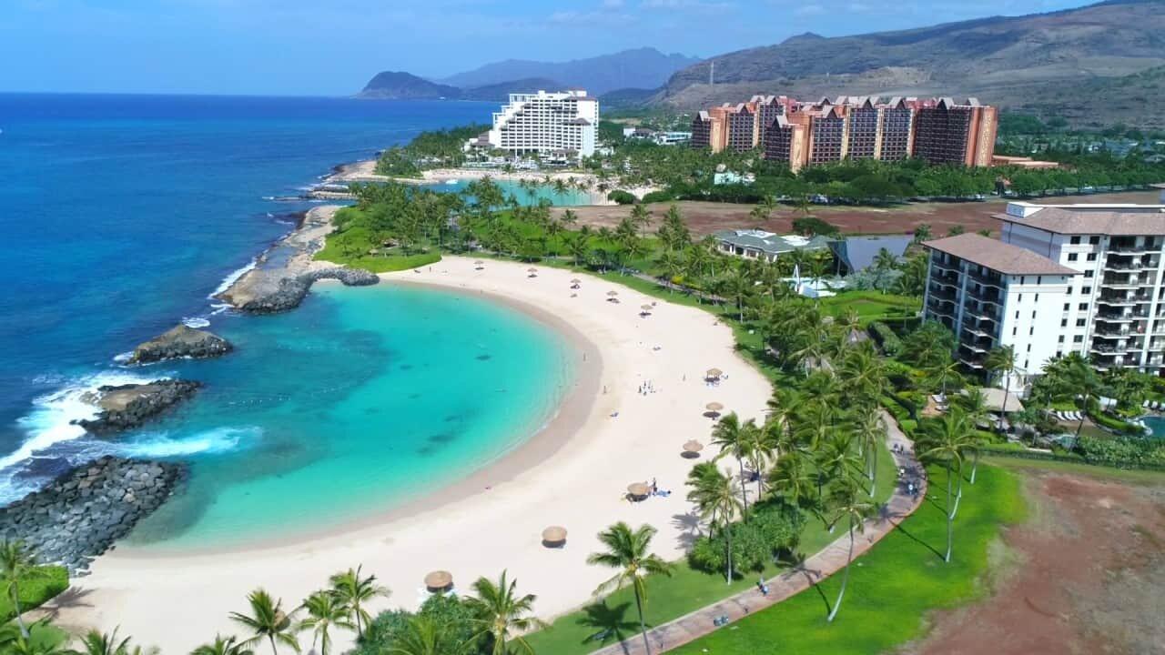 hawaii beach elopement ko olina