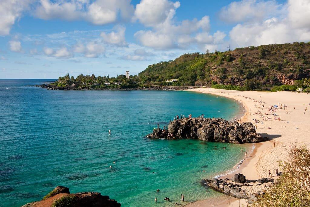 hawaii beach elopement weimea