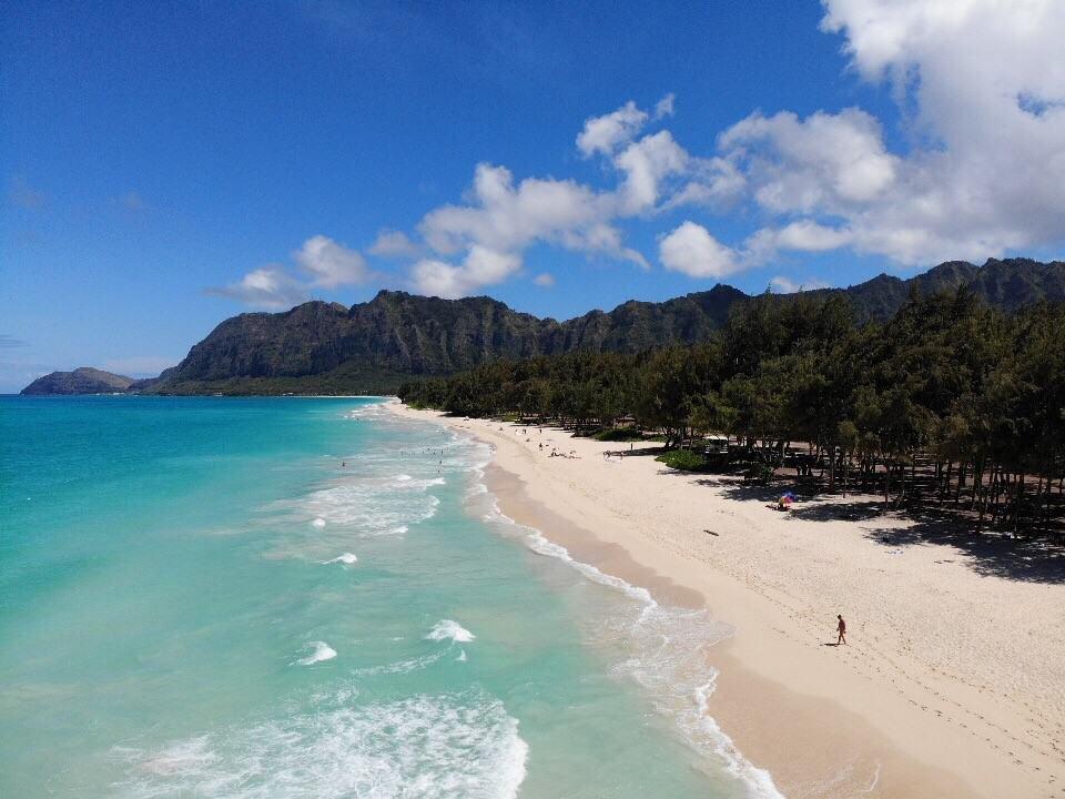 hawaii beach elopement Waimanalo
