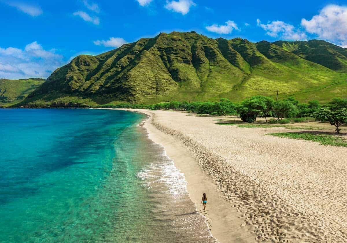 hawaii beach elopement makua