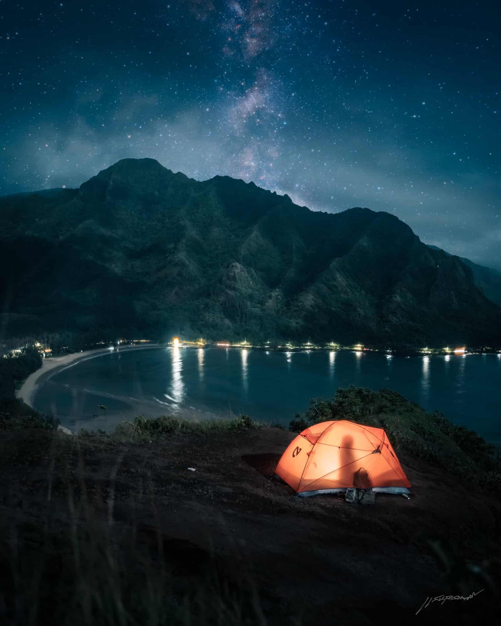hawaii-Elopement-camping
