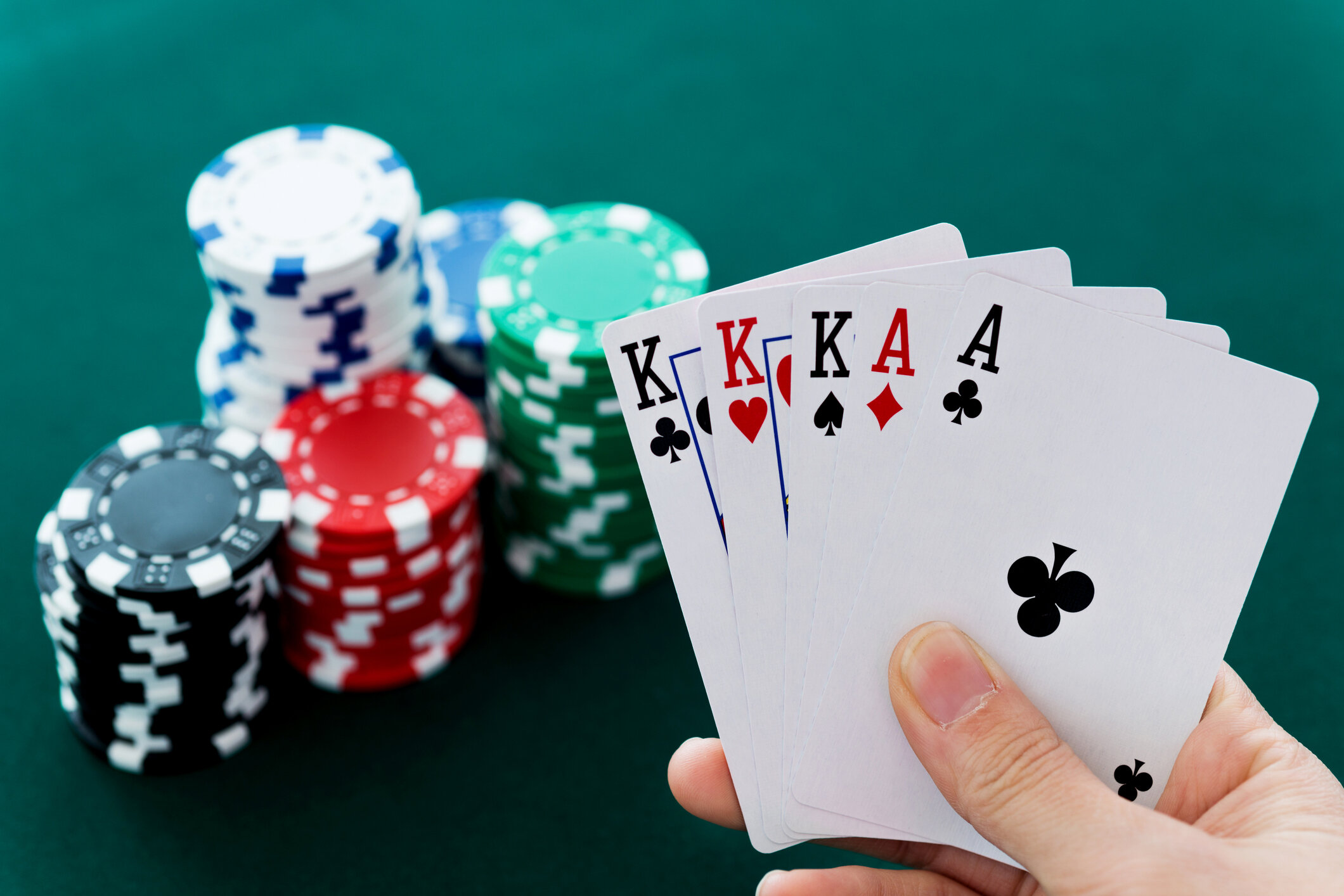 PLO 5 CARDS