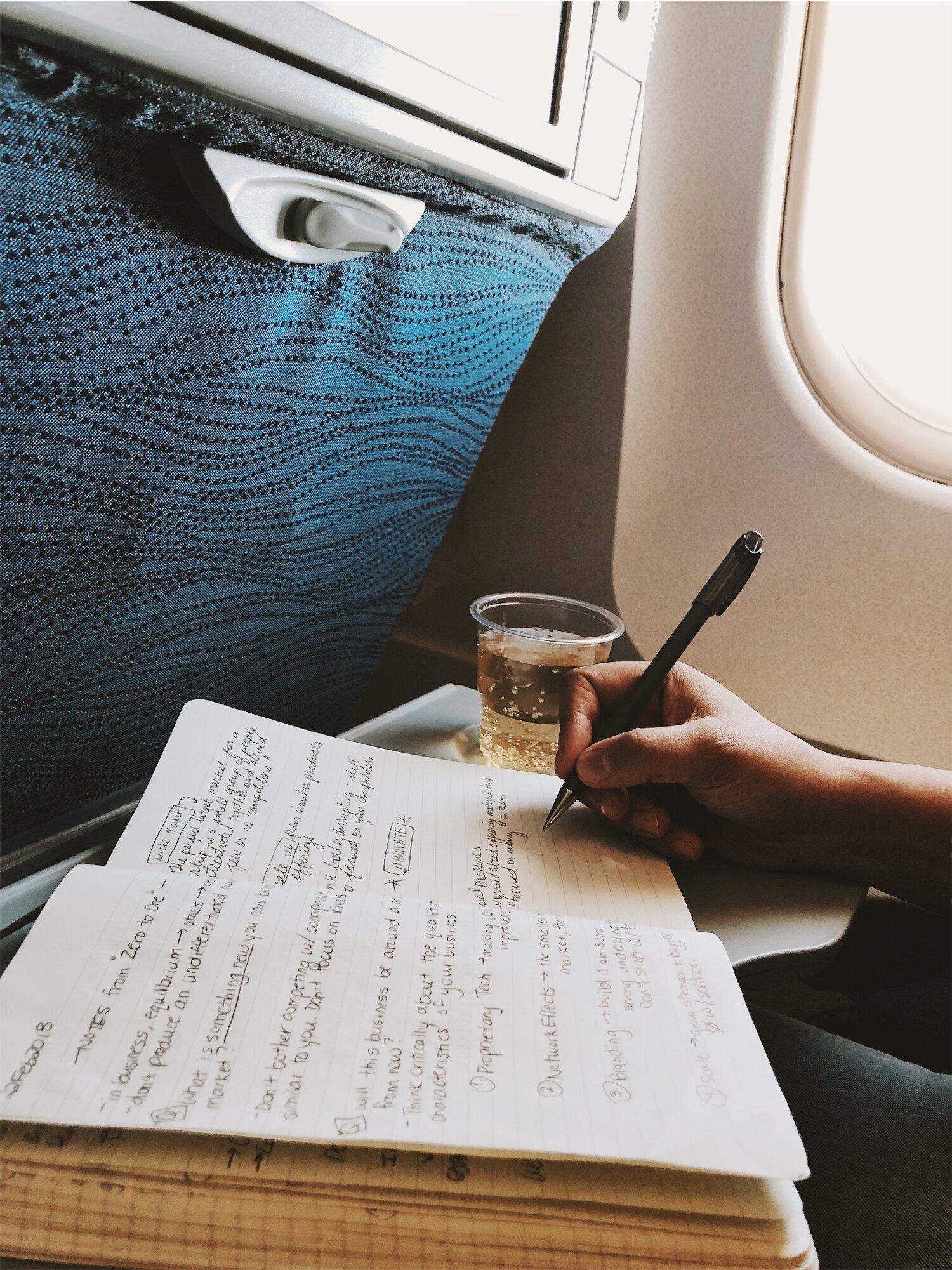 PaperandCoin_AirplaneSeat.jpg