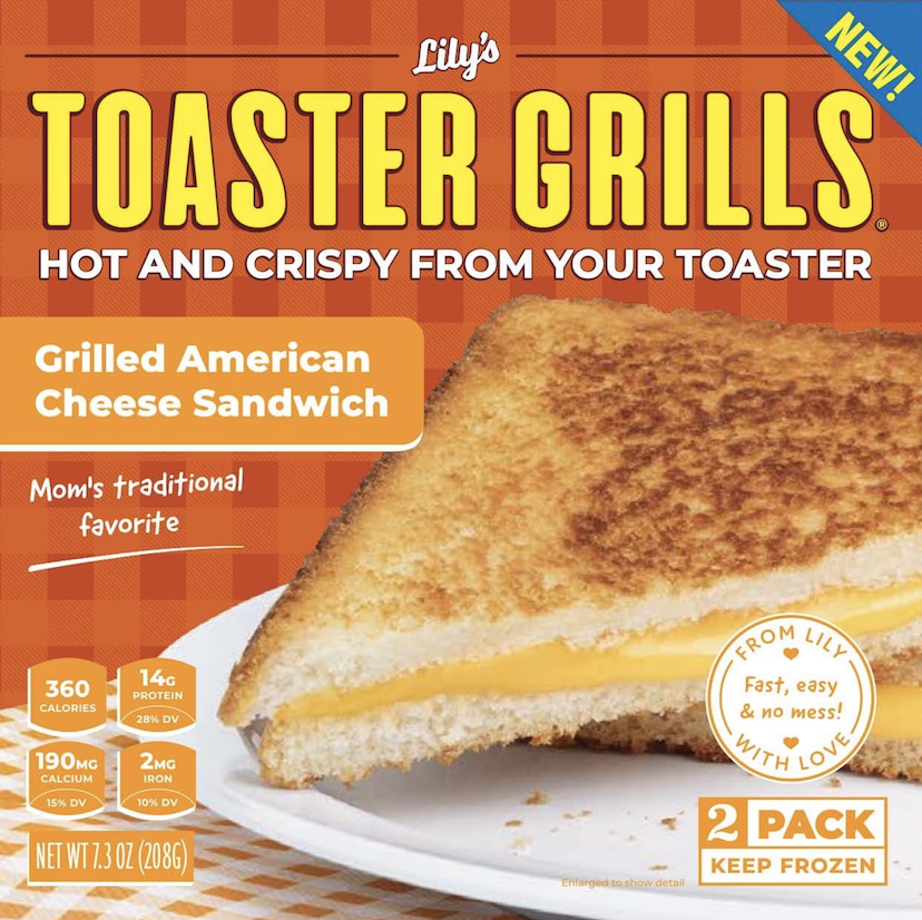 Grilled American Cheese Sandwich Lily S Toaster Grills