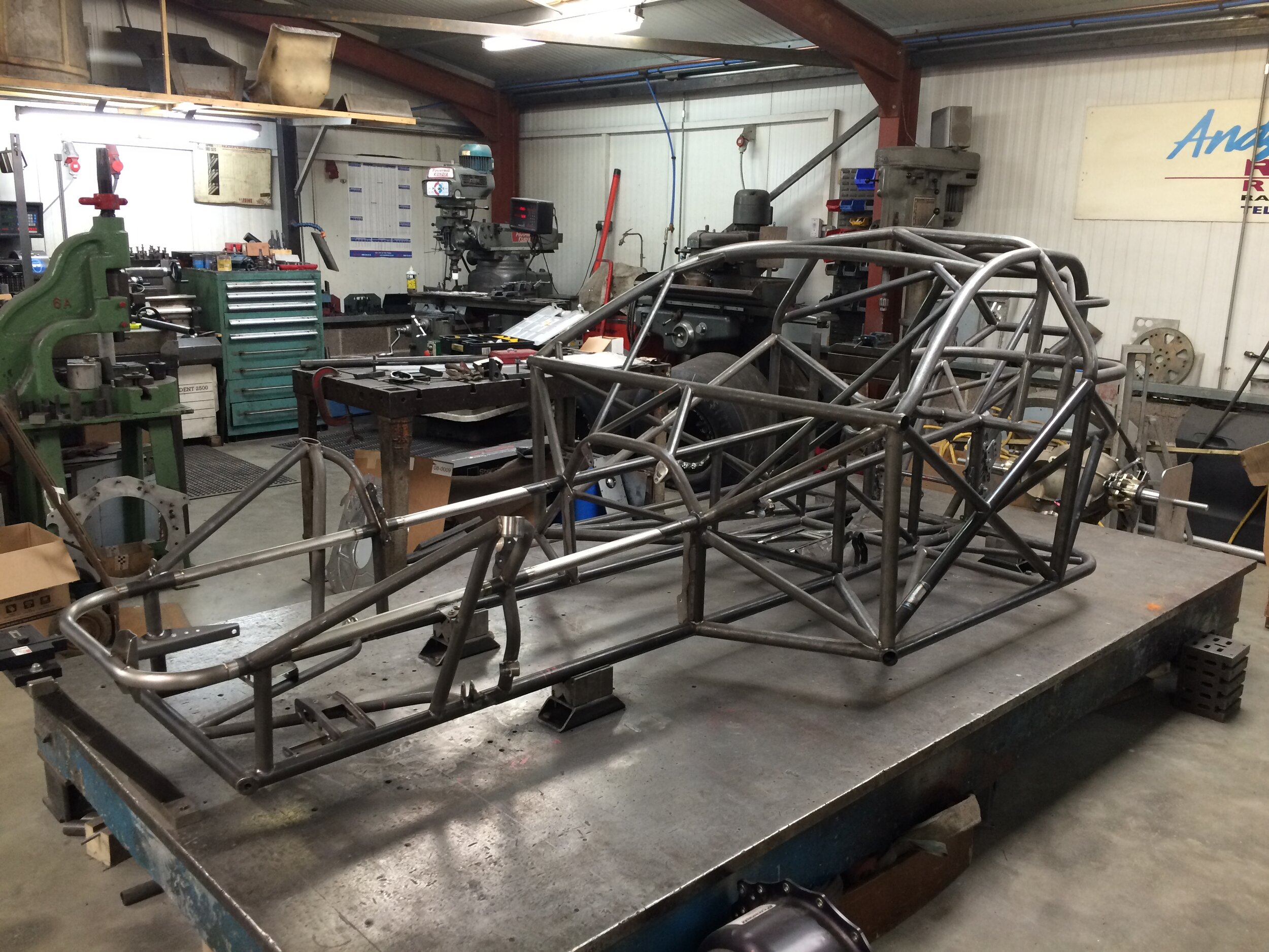 Bespoke Motorsport Fabrication Roll Cages Tubular Spaceframes Axle Suspension Services And More Robinson Race Cars