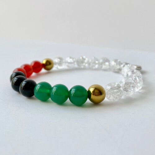 """Details about  /YING /& KANG Semi-precious and Precious gemstones Hand-Crafted /""""I GOT HEART/"""""""