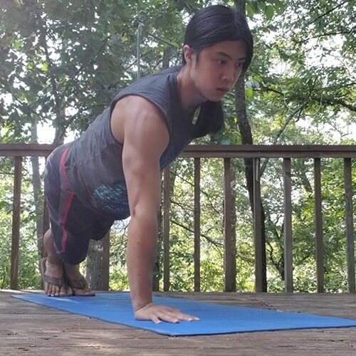 One Arm Feet Together Pushup Right Start.jpg