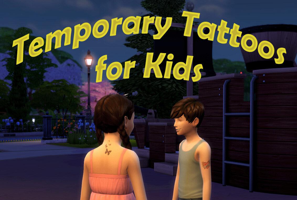 Temporary Tattoos For Kids Scumbumbo