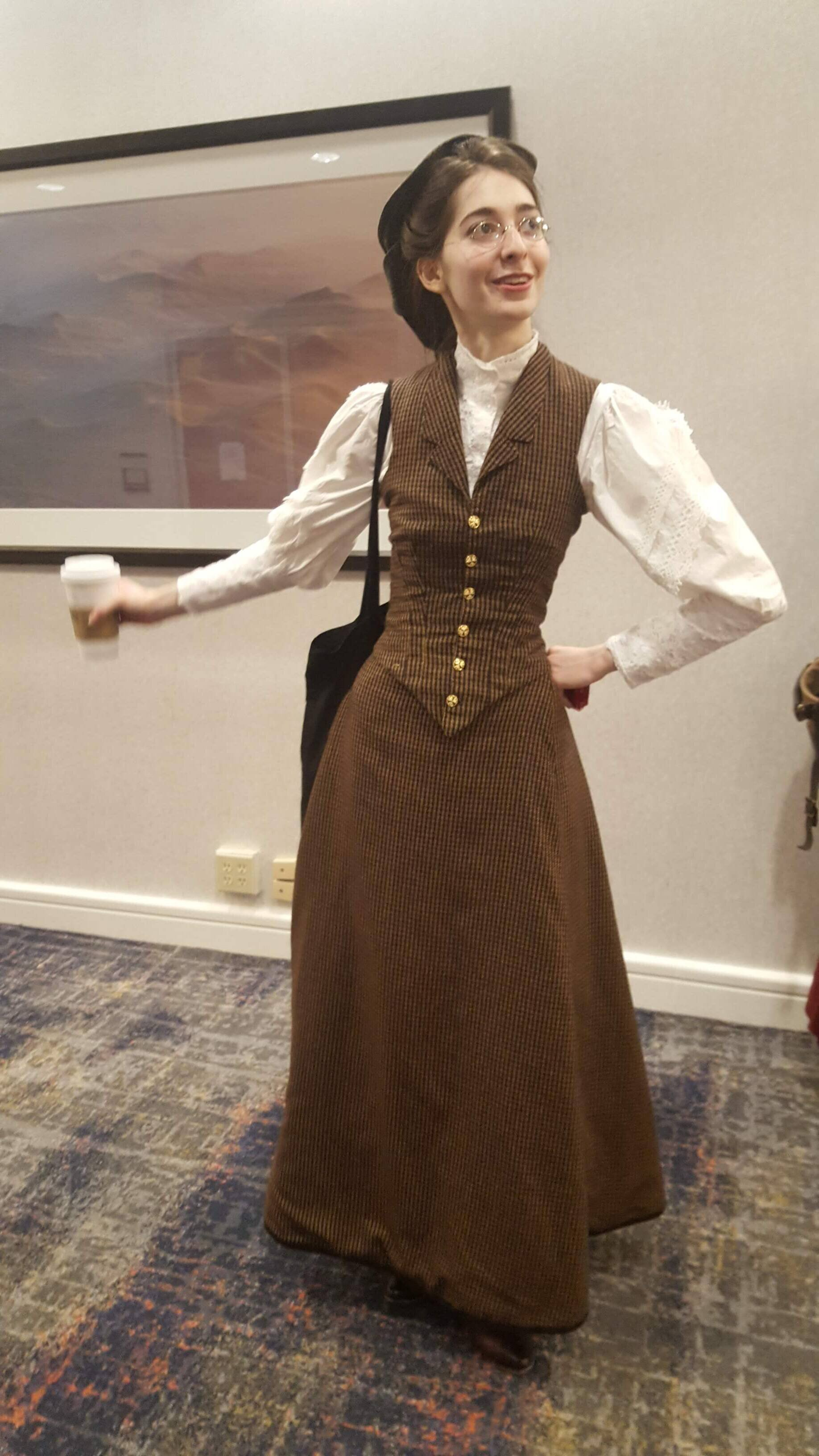 Costume College 2019 Day 3 Ageless Tailoress
