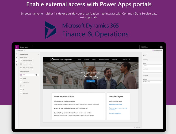 PowerAppsPortal-with-Dynamics365FinOps.PNG