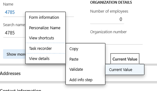 When RSAT generates the Excel parameter file for a test case, validation steps are added as shown in the image below. You can enter the expected value to use during execution of the test case.