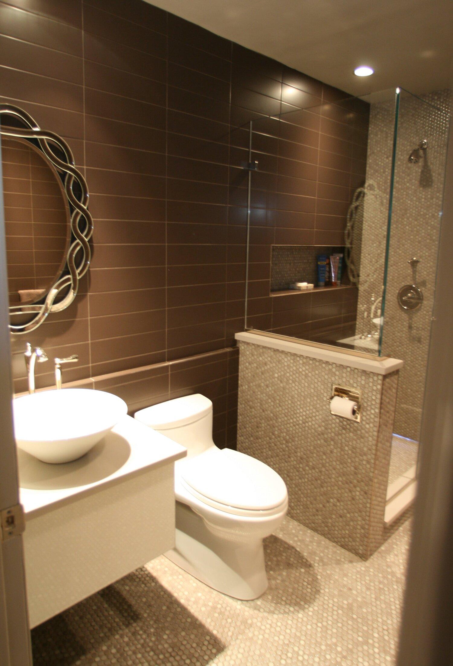 Warm Stone Pebble Bathroom Remodel And Interior Designer Sample Maplewood Nj Lm Design Lm Interior Design Interior Designer In Essex County Nj For Kitchen Bathroom And Whole House Remodeling 973 857 1561
