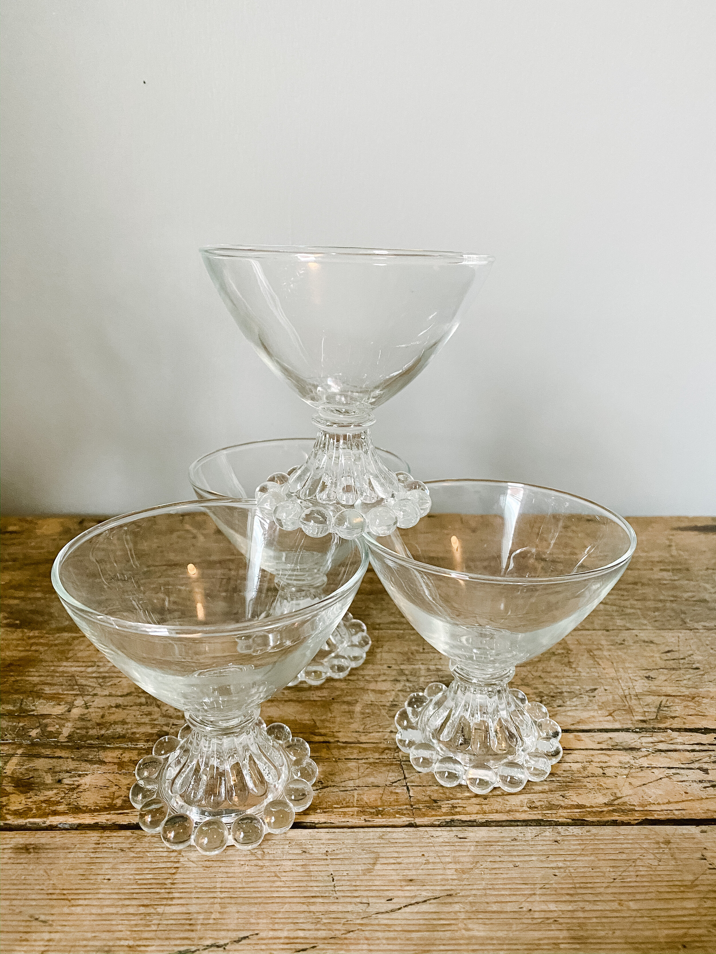 Set Of 4 Dessert Cups Or Champagne Coupes Joy Proctor Design